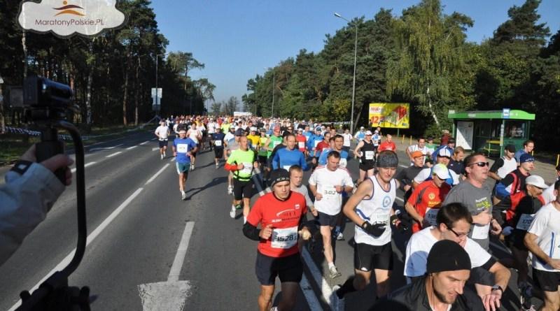 12 Poznań Maraton - pierwsze kilometry
