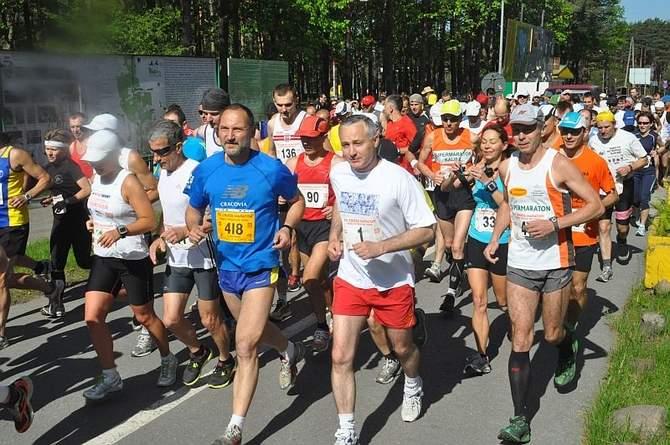"""VII Cross Maraton """"Przez Piekło do Nieba"""" - start"""