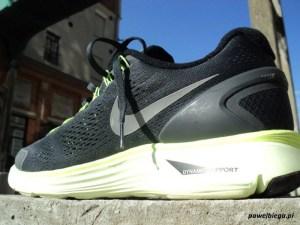 Nike LunarGlide+ 4 - klips stabilizujący na pięcie