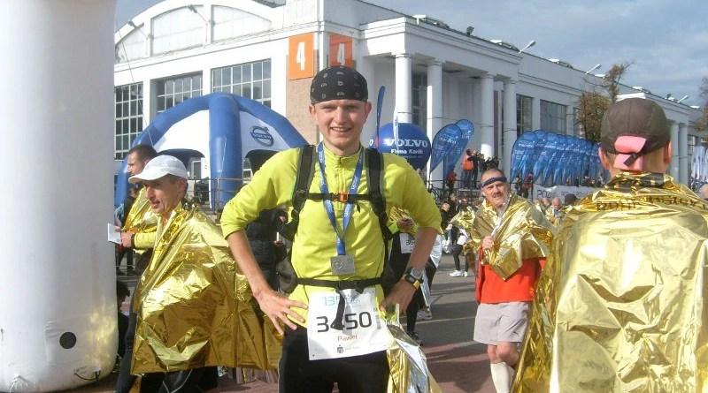 13 Poznan Maraton - na mecie