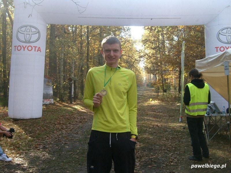 I Maraton Kampinoski - na mecie