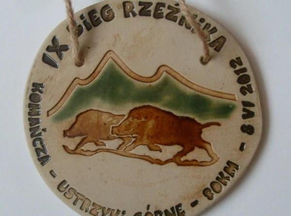 Medal IX Bieg Rzeźnika