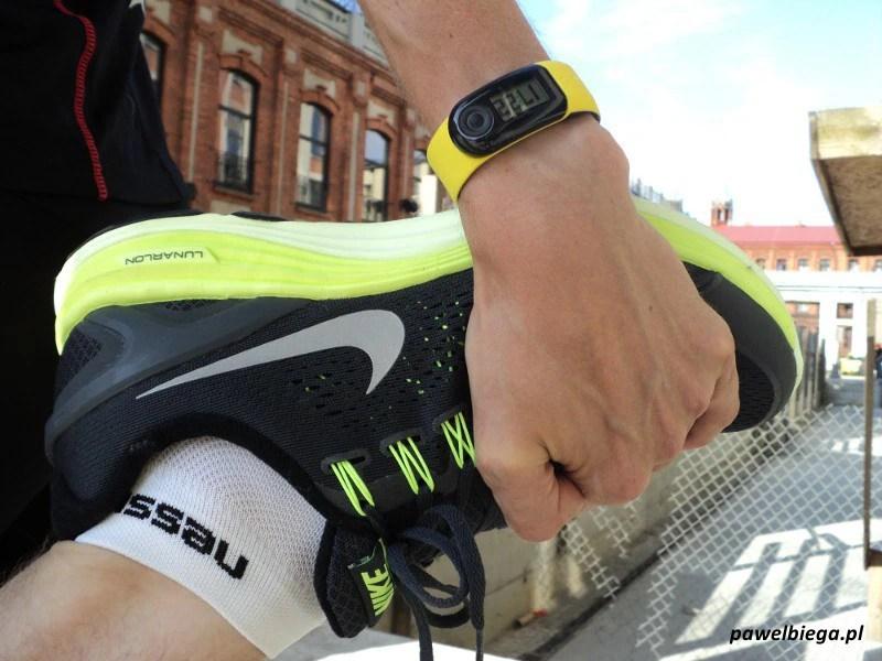 Nike+ SportBand - na ręku