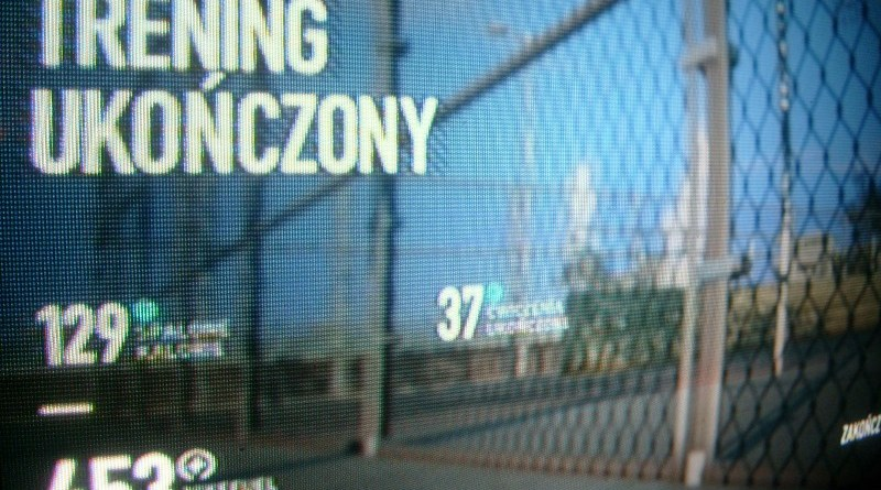 Nike+ Kinect Trainig - trening ukończony