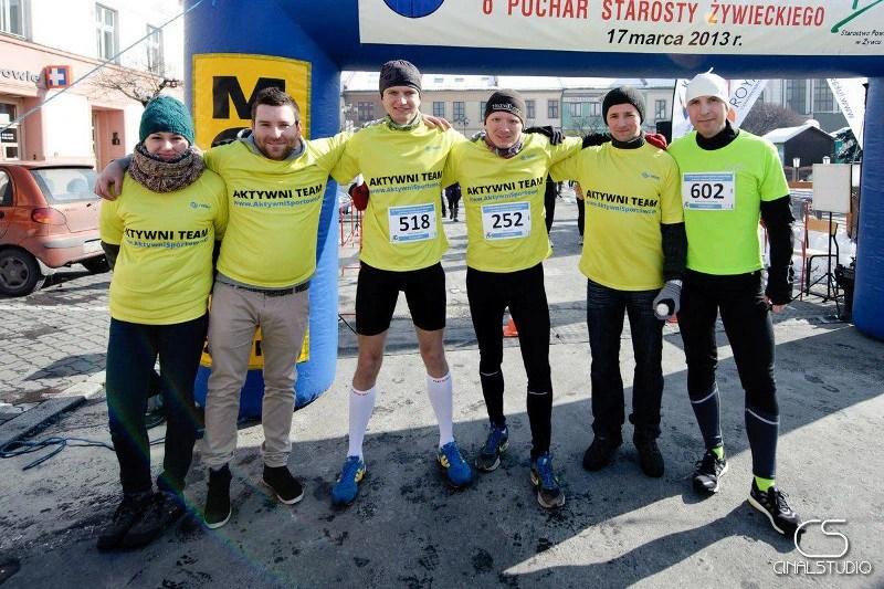 Półmaraton dookoła Jeziora Żywieckiego - na starcie