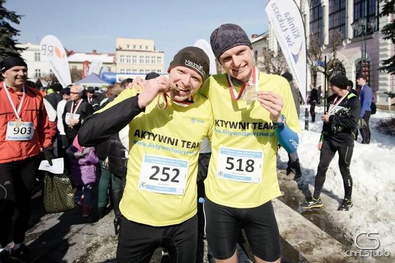 XIV Półmaraton dookoła Jeziora Żywieckiego - z Piotrkiem