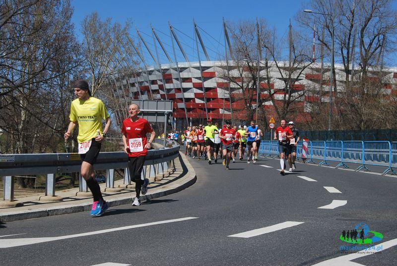 Orlen Warsaw Marathon - na trasie