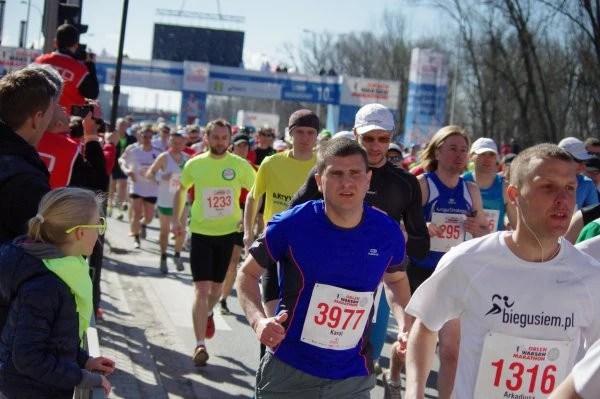 Orlen Warsaw Marathon - start