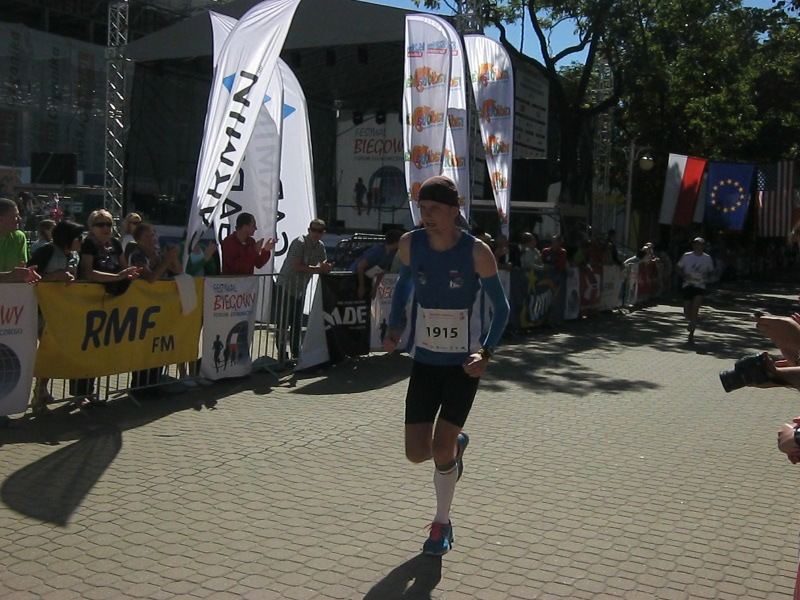 Koral Maraton - finisz