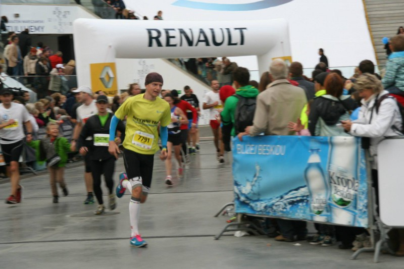 35. PZU Maraton Warszawski - finisz1