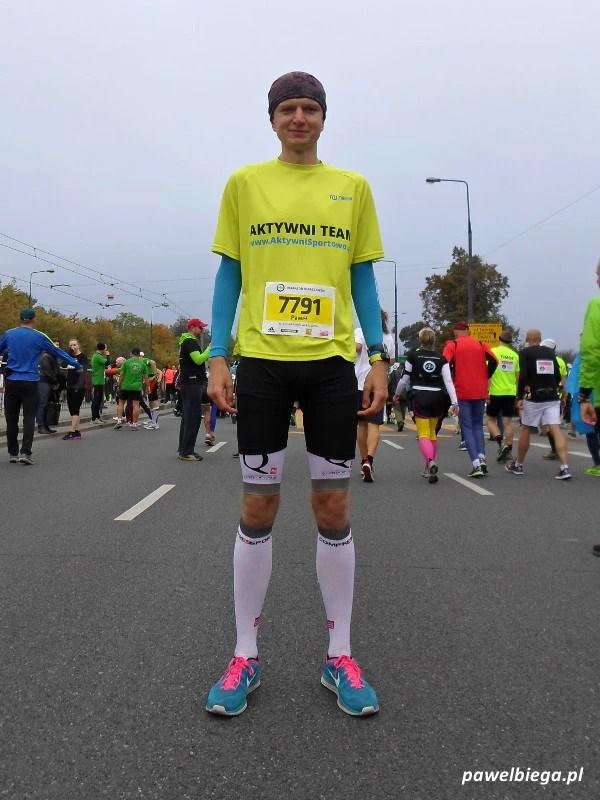 35. PZU Maraton Warszawski - start