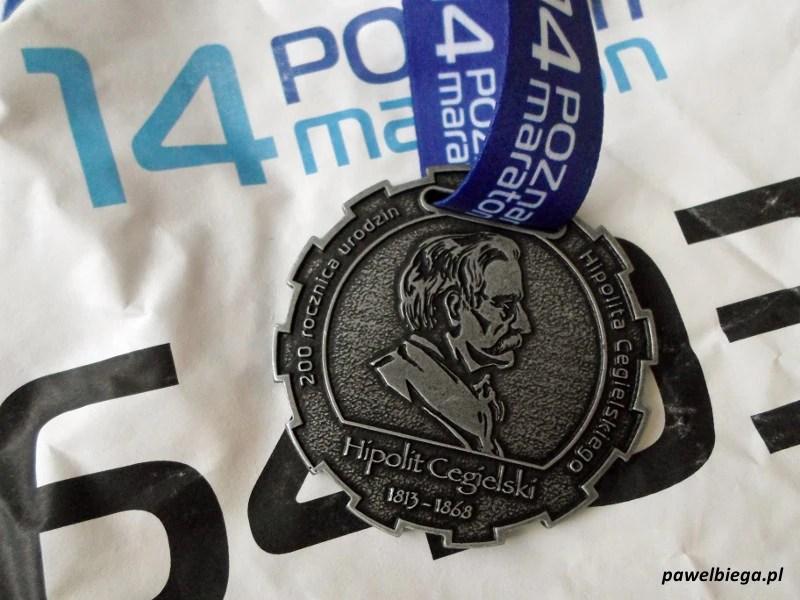 14. Poznań Maraton - medal