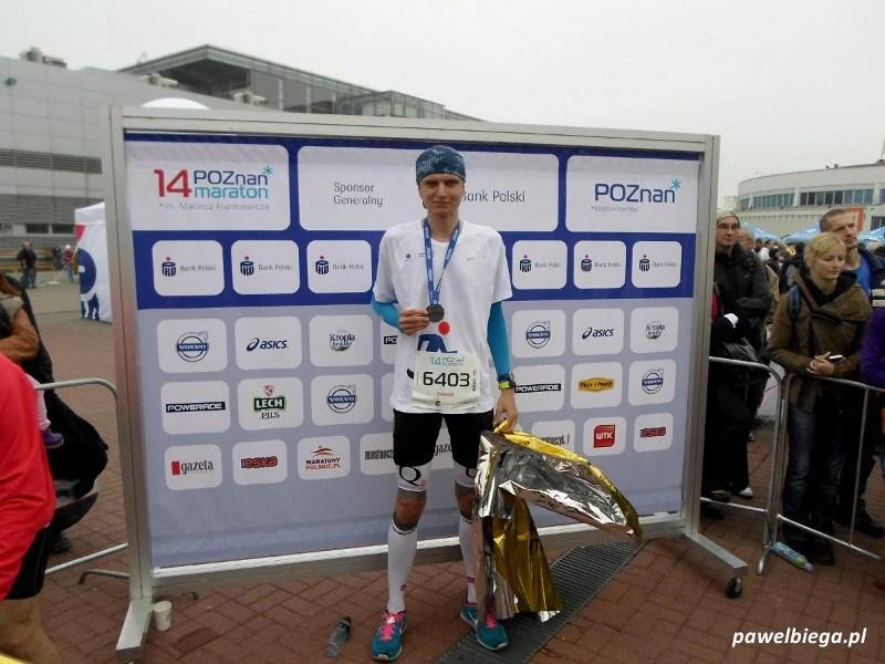 14. Poznań Maraton - meta