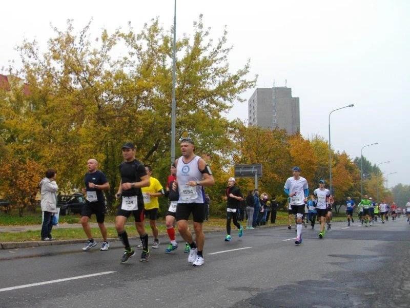 14. Poznań Maraton - trasa