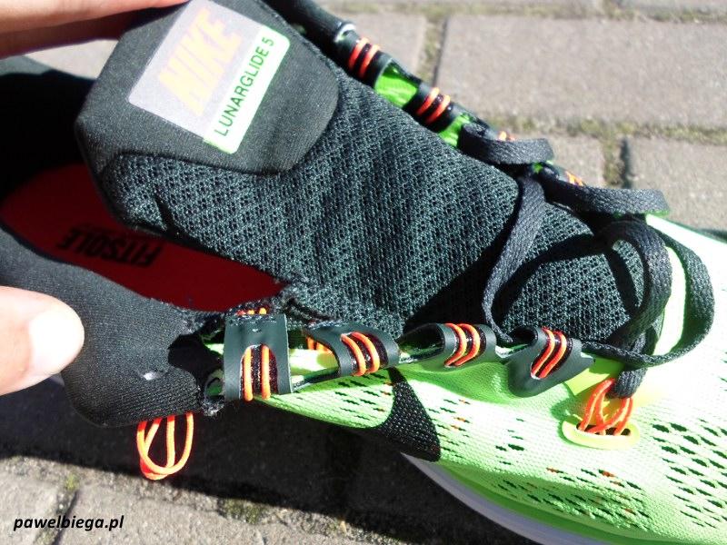 Nike LunarGlide+ 5 - język