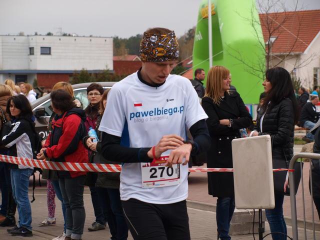 Bieg w Książenicach - medal