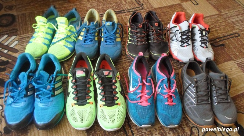 Buty do biegania - różne