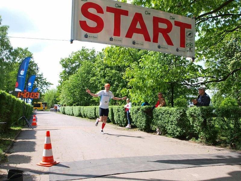 XIV Półmaraton Hajnowski - finisz