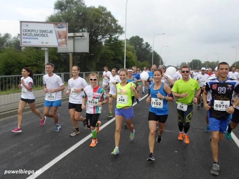 BMW Półmaraton Praski - grupa na 1:45