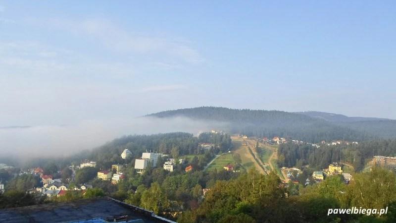 Hotel Panorama - widok z okna