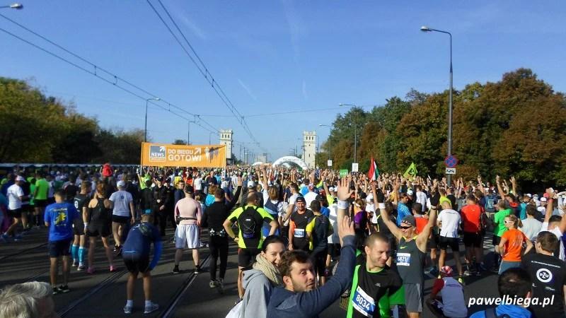 36 Maraton Warszawski - przed startem