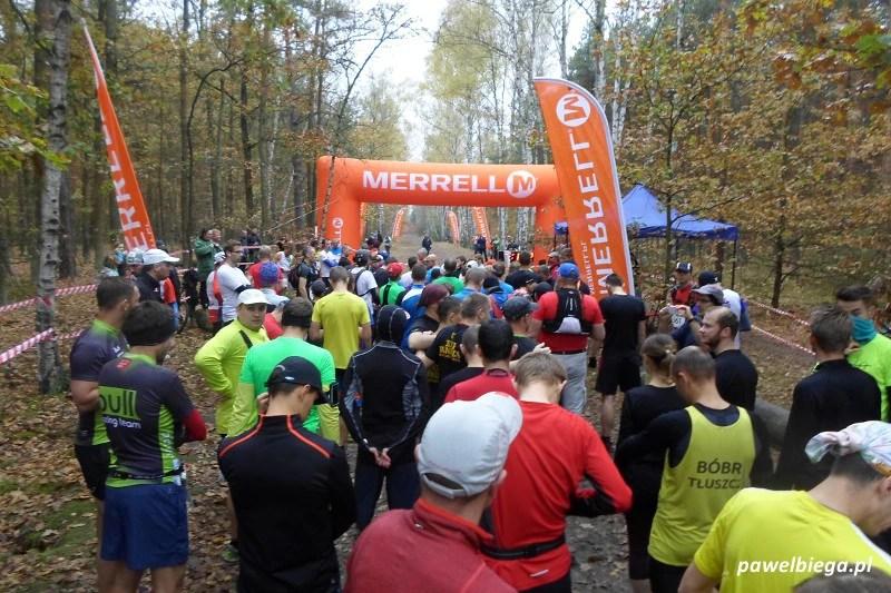 III Maraton Kampinoski - start