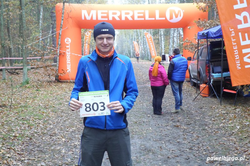 III Maraton Kampinoski - z numerem