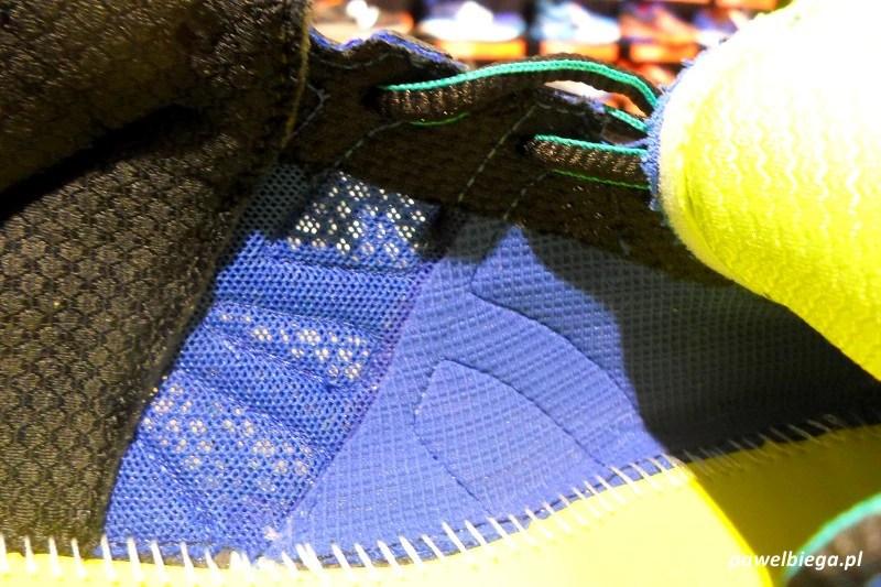 Asics Gel-Kayano 21 - szwy wewnątrz buta