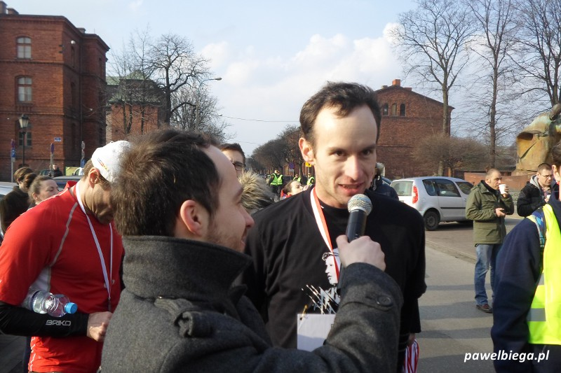 Bieg Tropem Wiczym - Jacek Rubikowski