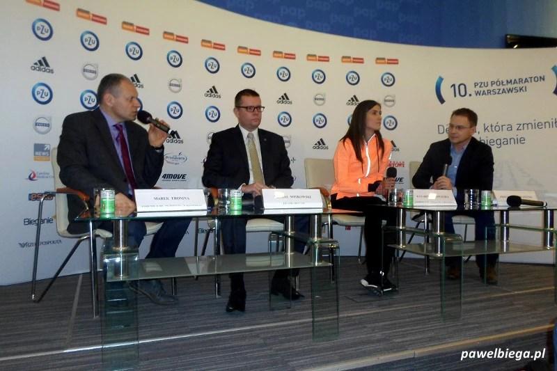 Półmaraton Warszawski - konferencja