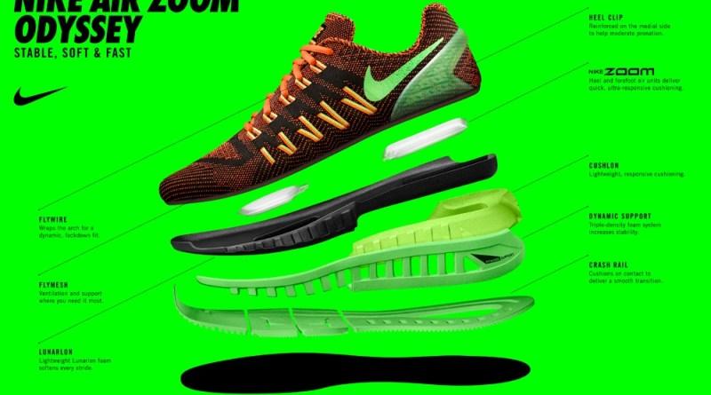 Nike Zoom Odyssey - konstrukcja