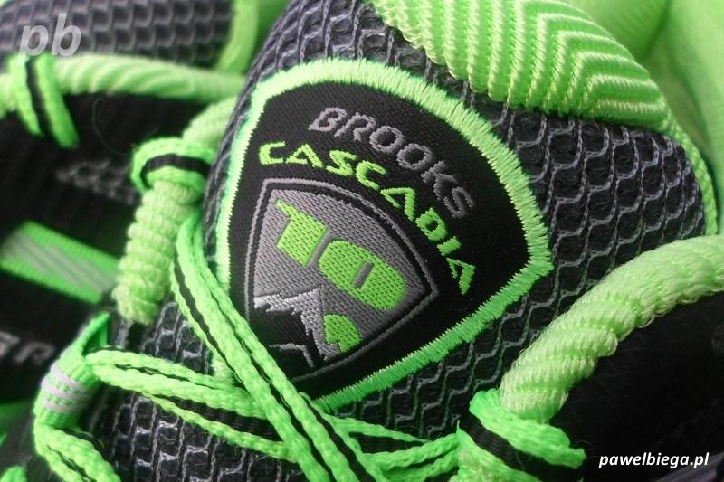 Brooks Cascadia 10 - detal