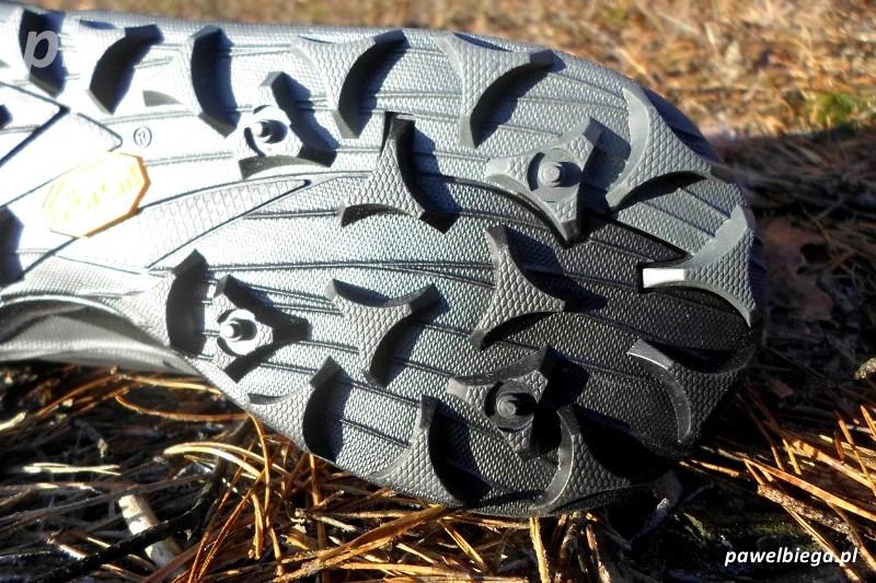 Merrell Allout Terra Trail - vibram tył