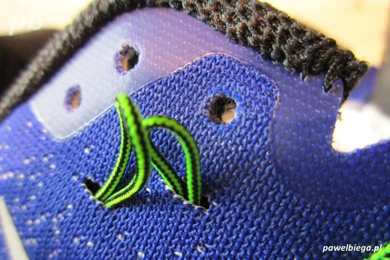 Nike Zoom Pegasus 33 - dodatkowa dziurka