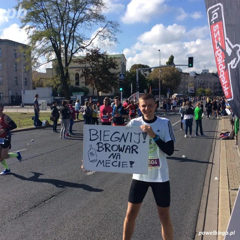 38 Maraton Warszawski - kibicowanie
