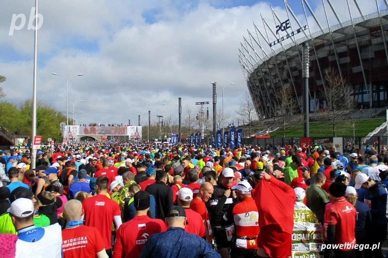 Orlen Warsaw Marathon 2017 - start