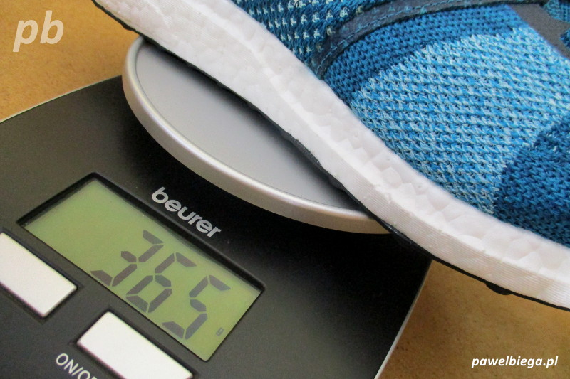 Adidas Ultra Boost ST - waga