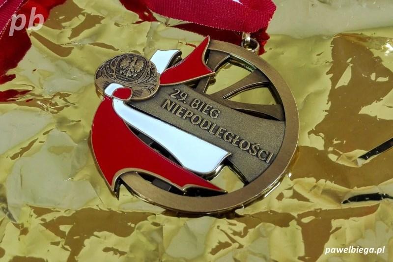 Bieg Niepodleglosci 2017 - medal