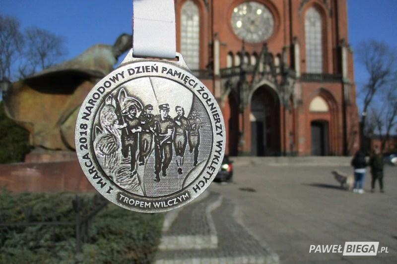 Bieg Tropem Wilczym Żyrardów - medal