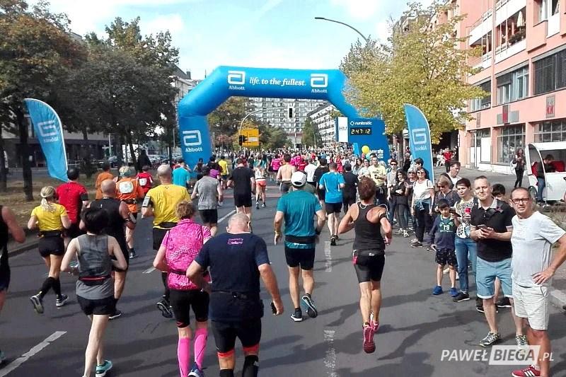 Berlin Marathon 2018 - na półmetku