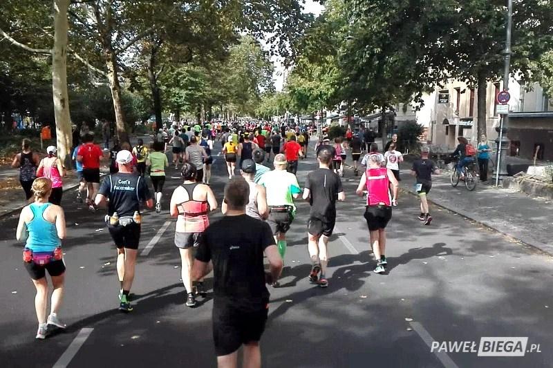 Berlin Marathon 2018 - na trasie maratonu