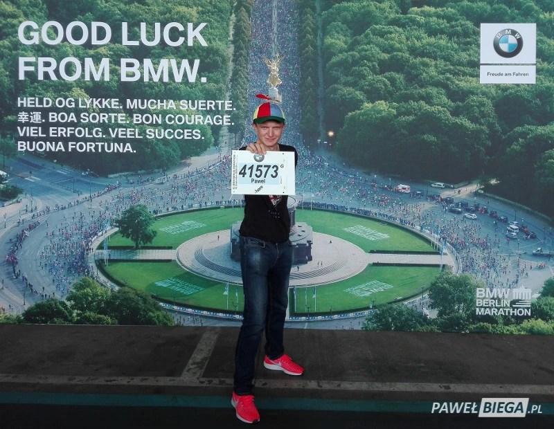 Berlin Marathon 2018 - numer startowy