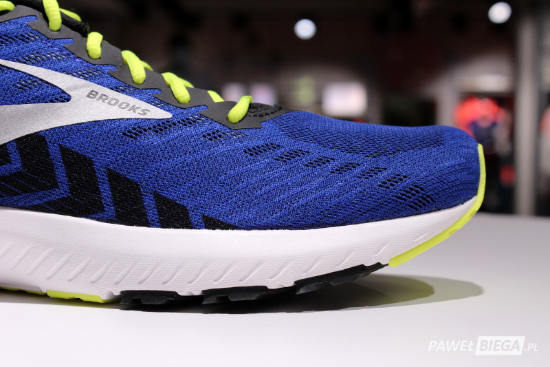 Brooks Launch 6 - toebox