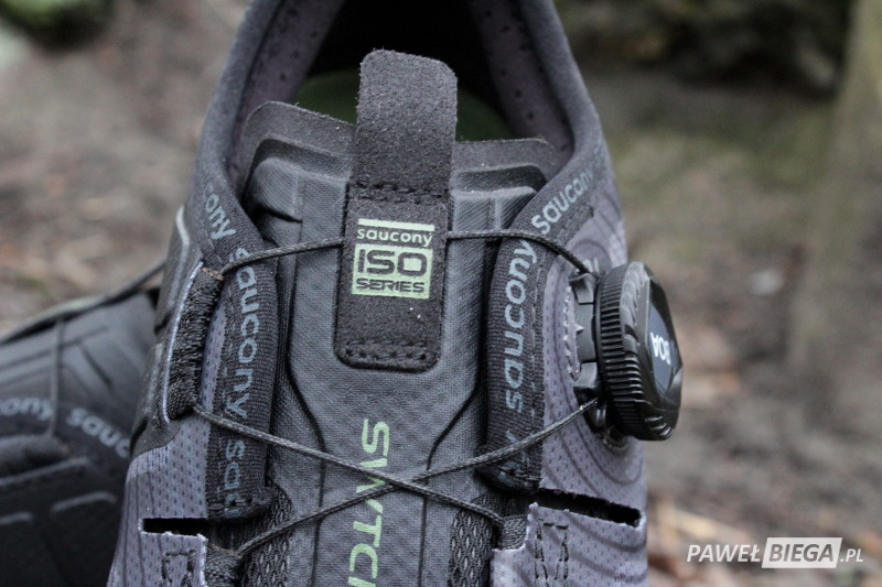 Saucony Switchback ISO - system BOA