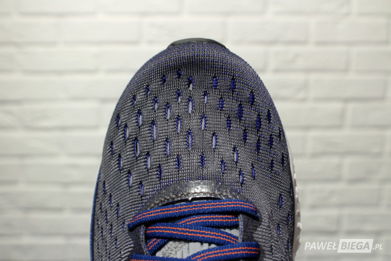 Brooks Transcend 6 - toebox