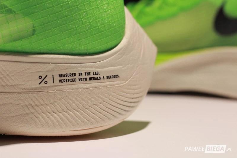 Nike Vaporfly Next - detal