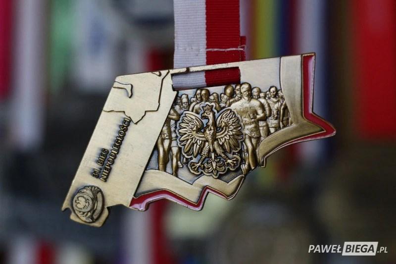 31 Bieg Niepodległości - medal