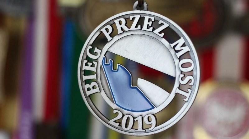 Bieg przez Most - medal