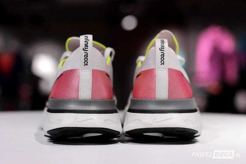 Nike React Infiniti Run - tyłem