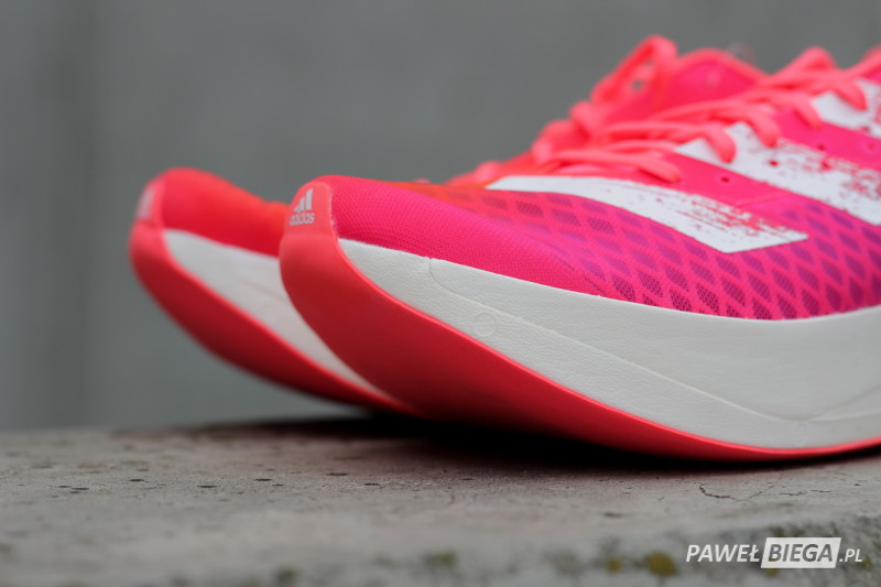 adidas Adizero Adios Pro - czubek buta